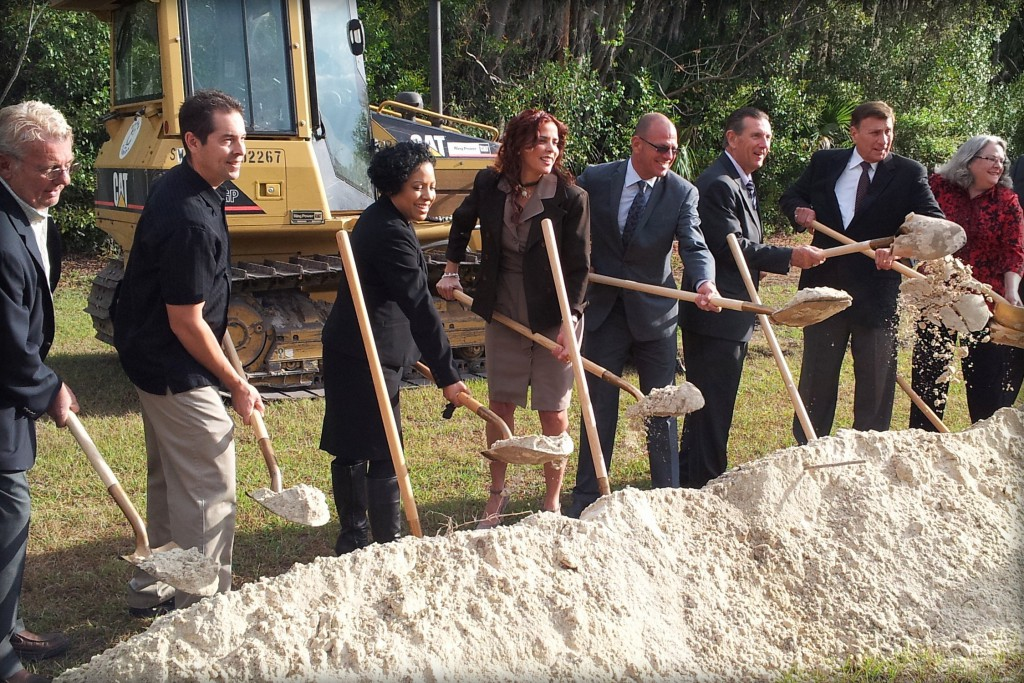 DeLand Intermodal Tranportation Center's Groundbreaking Ceremony