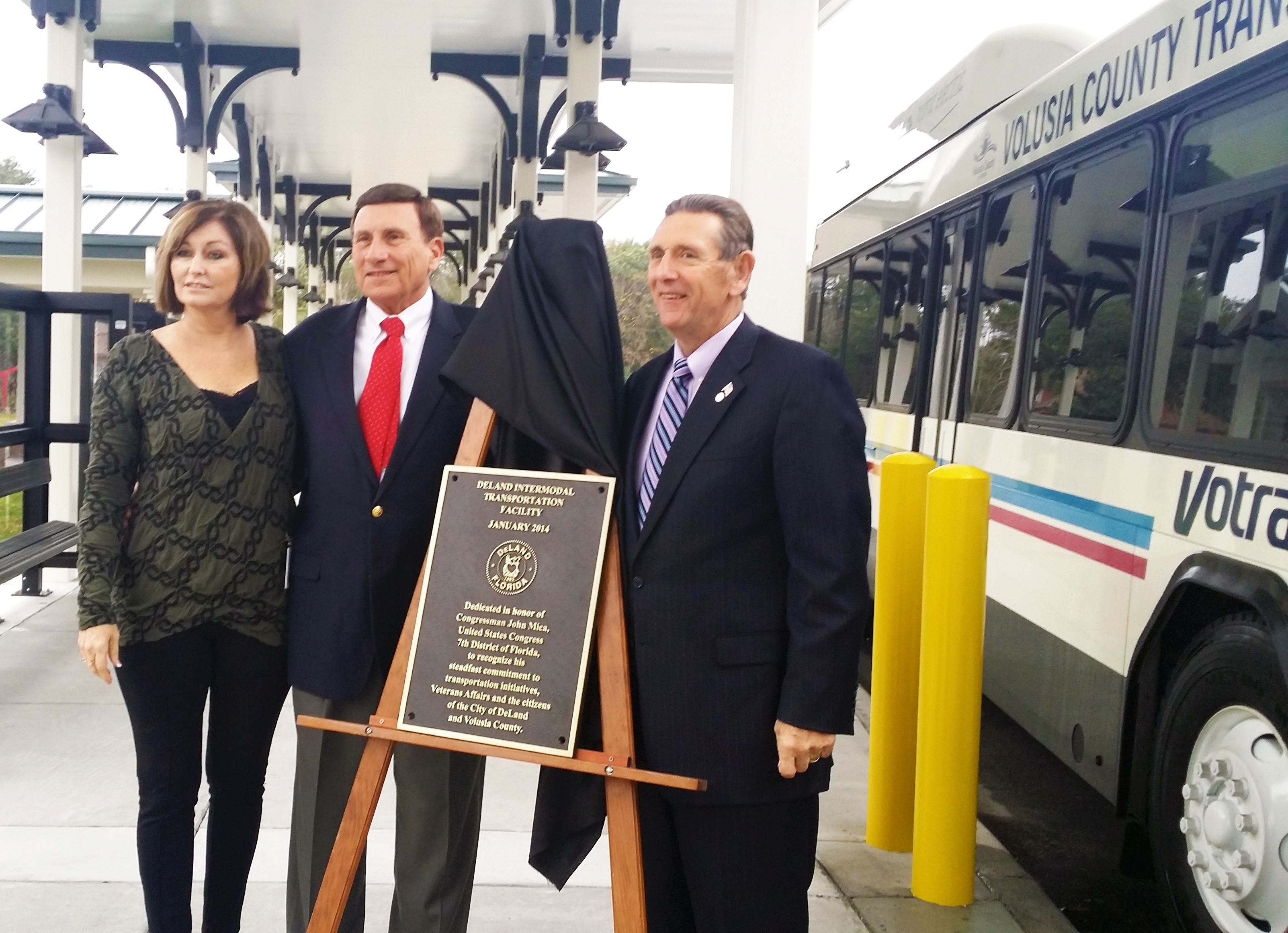 Dedication in honor of Congressman John Mica